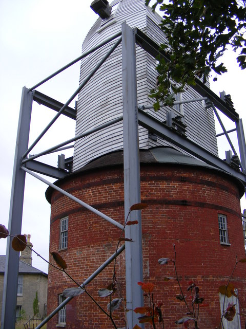Friston Post Mill