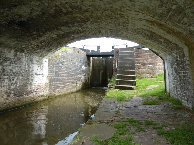 Below Lock No 68 on the Trent & Mersey Canal