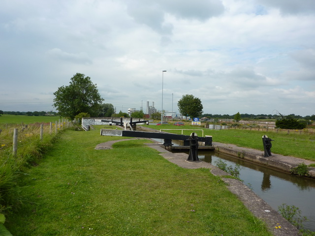 Lock No 68 on the Trent & Mersey Canal