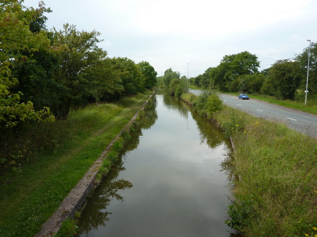 Trent & Mersey Canal as from Bridge No 164