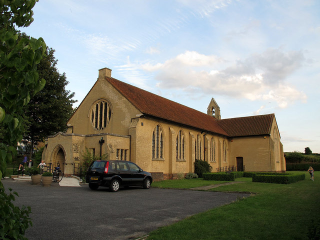 St Mary's church, Green Street Green