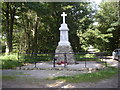 NJ5210 : Leochel-Cushnie War Memorial by Stanley Howe