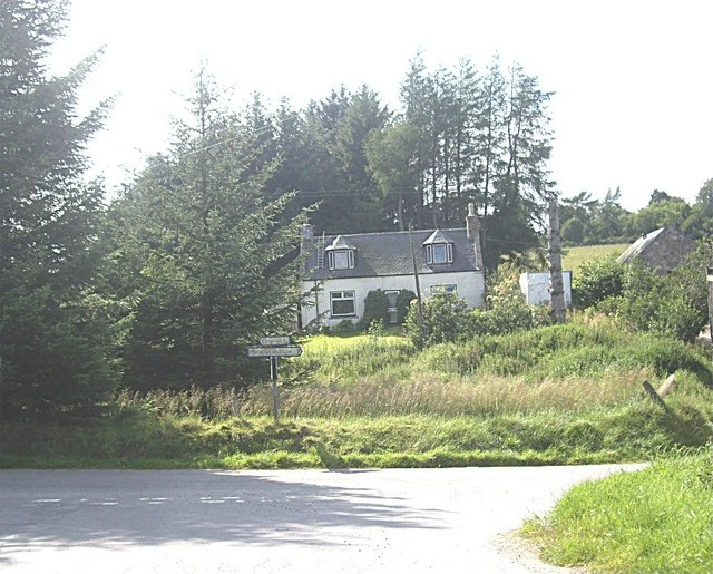 Approach to Brae House junction