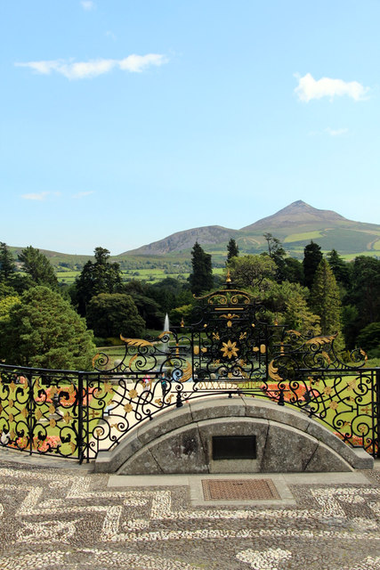 Garden, Powerscourt, County Wicklow, Ireland