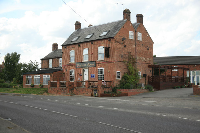 the Beckett Arms on the A631