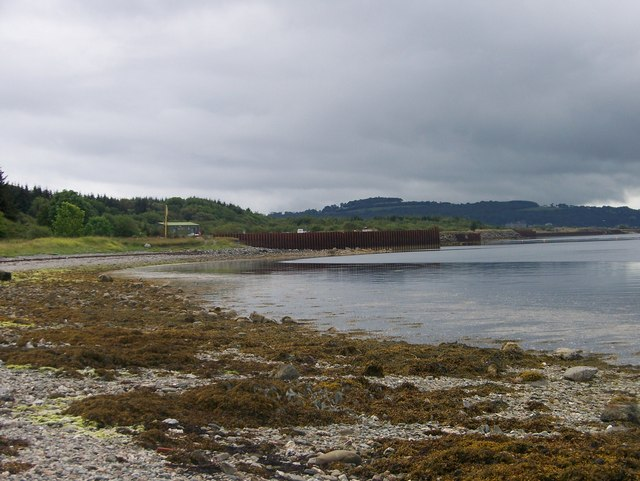 Beach south of Port Lamont