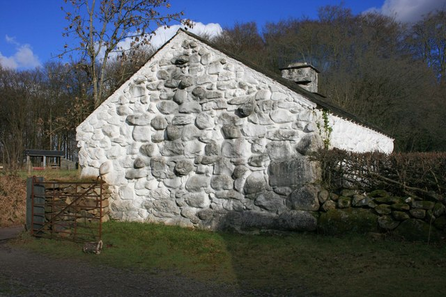 Llainfadyn Cottage, St Fagans Museum of Welsh Life