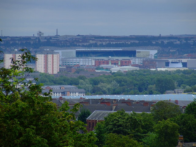 Celtic Park from Queens Park