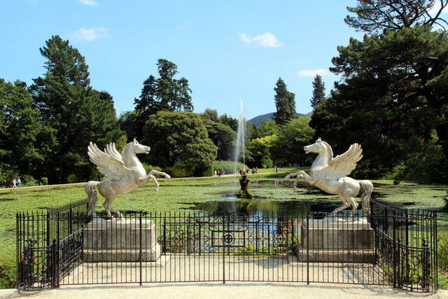 Statues and Water Garden, Powerscourt, County Wicklow, Ireland