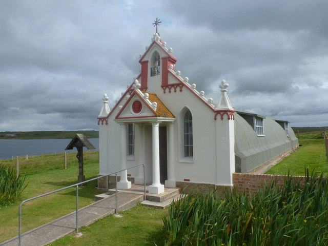 Lamb Holm: the Italian Chapel