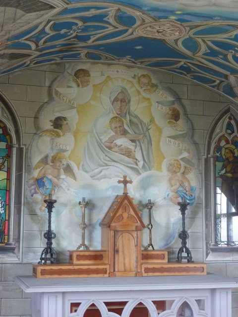 Lamb Holm: the Italian Chapel altar