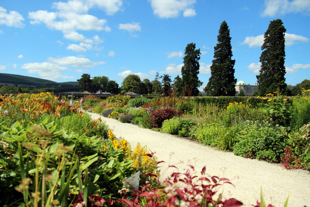 Herbaceous Border, Powerscourt, County Wicklow, Ireland