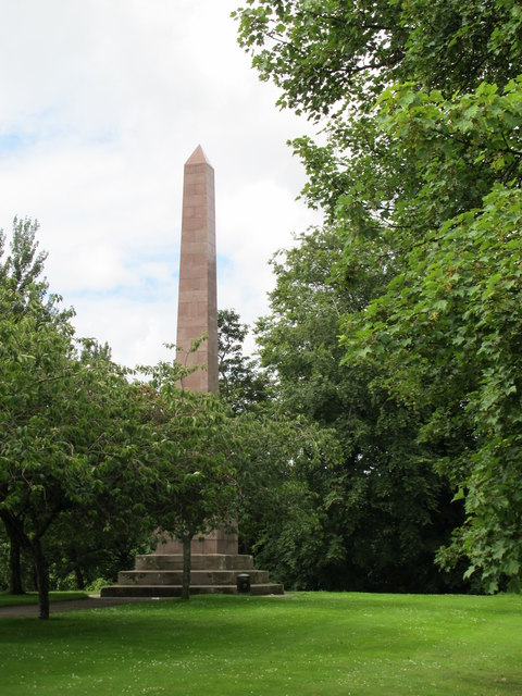 The Thomson Monument, Forres