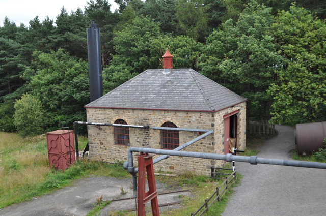 Beamish Colliery Boilery House