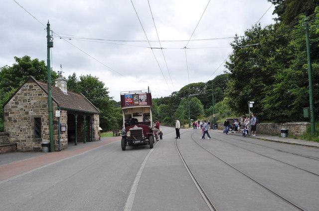 Beamish Tram Stop