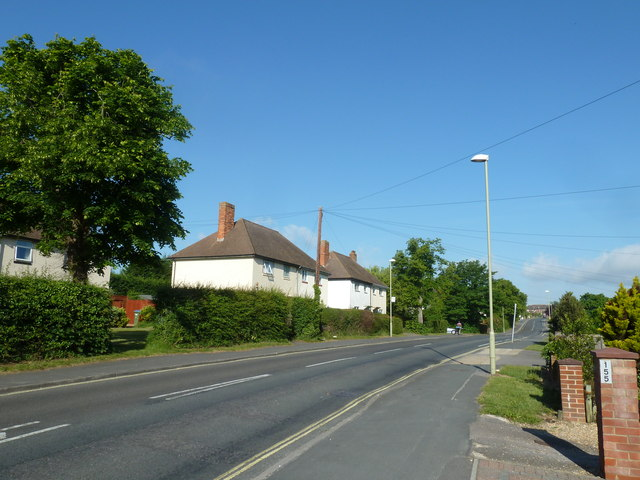 Mid section of Gudge Heath Lane