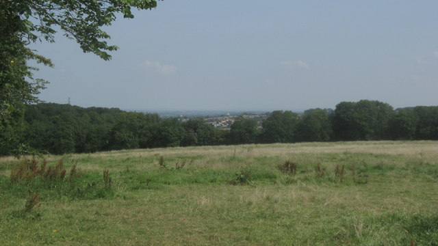 View from hill near Mace Farm