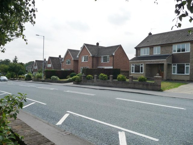 Houses on Walton Lane, Sandal
