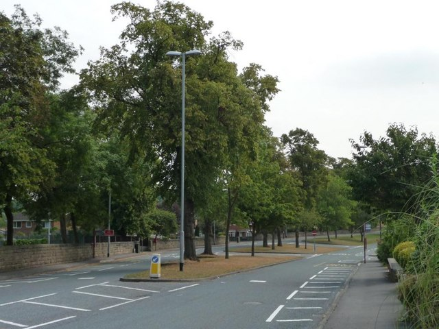 Central reservation, Walton Lane, Sandal