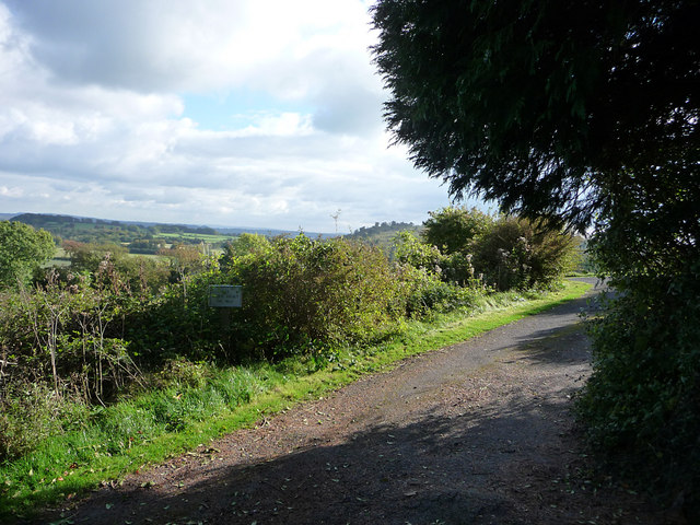 Track at the top of the Zig Zag path