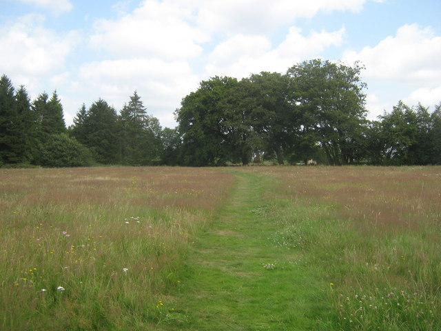 Footpath towards West Hill