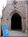 SO5174 : The south porch of the church of St Laurence by John S Turner
