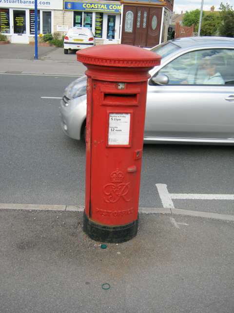 George VI Pillar Box