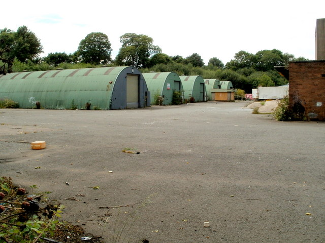 Five Nissen huts, Cwmbran