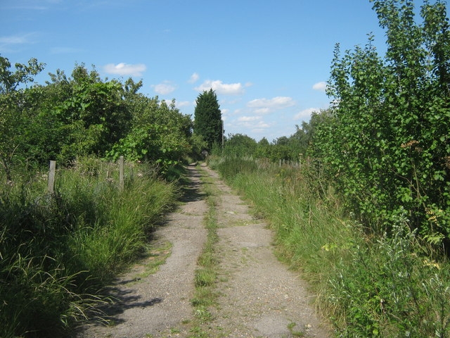 Farm track near Walden Manor