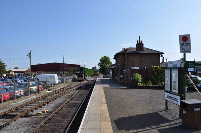 Leeming Bar Railway Station