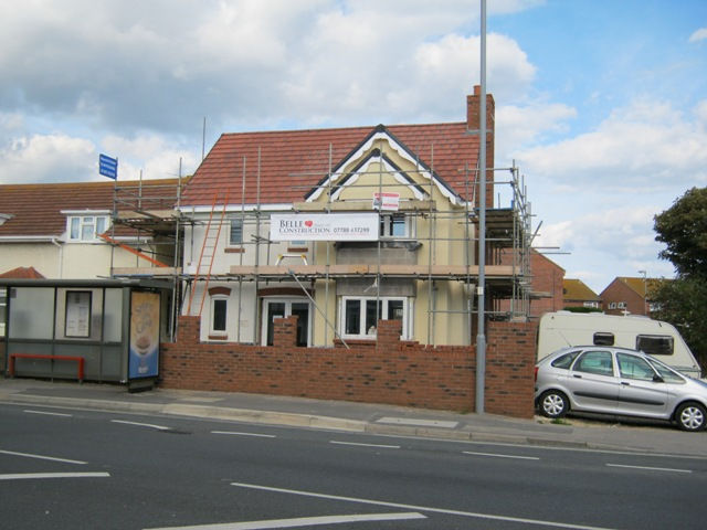 New build on the Portland Road