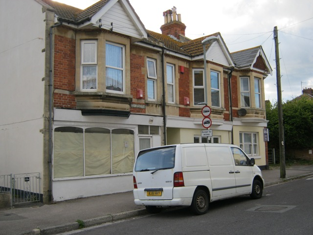 Former shops in Wyke Regis High Street