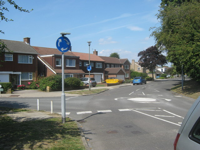 Roundabout on Crofton Avenue