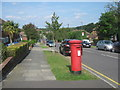 TQ4663 : Postbox on Windsor Drive by David Anstiss