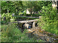 SD9339 : Clapper Bridge over Wycoller Beck by David Dixon
