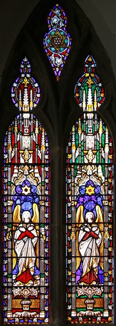 Holy Trinity, Rudgwick - Stained glass window