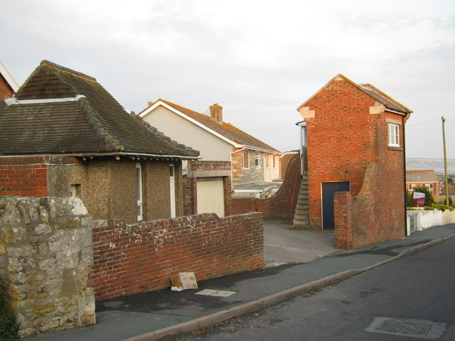 Coastguard Cottages in Westhill Road