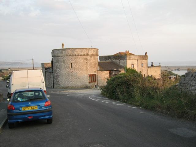 Wyke Castle in Westhill Road