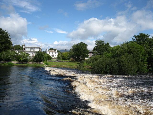 River Cree Weir, Newton Stewart