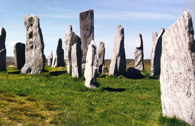 The Callanish Stones of the Isle of Lewis