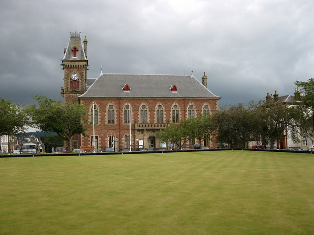 County Buildings, Wigtown