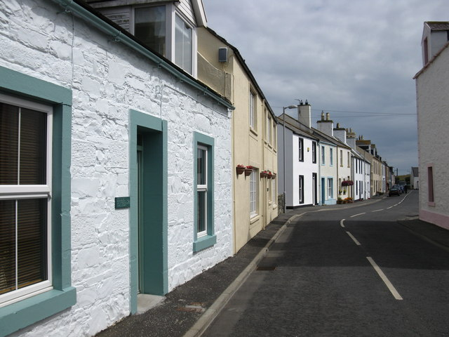 Houses, Isle of Whithorn