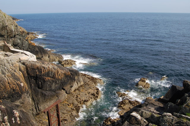 The cliffs at Sea Lion Cove