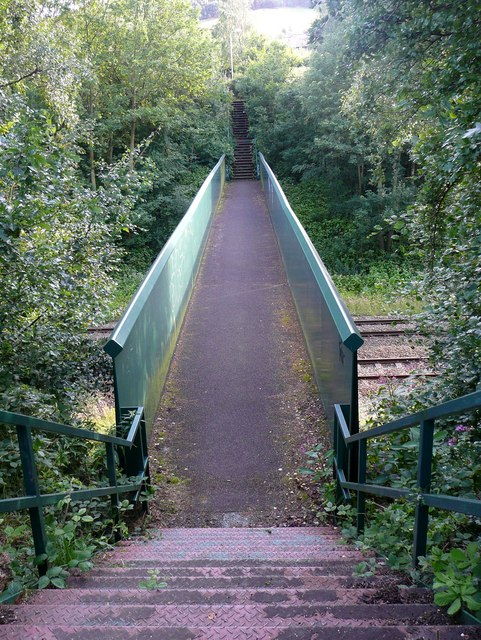Railway Footbridge MVN2 134, Mytholmroyd