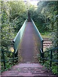 SE0026 : Railway Footbridge MVN2 134, Mytholmroyd by Humphrey Bolton
