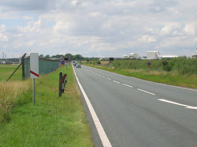 A18 towards Brigg
