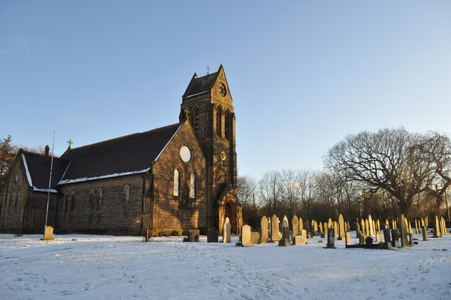 St Michael's in the snow