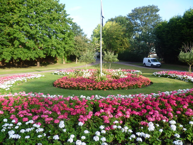 Entrance to Priory Gardens, Orpington