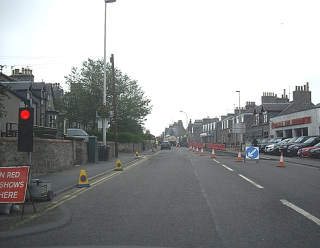 Road Works, Peterculter