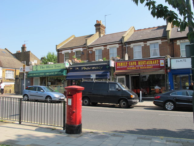 Shops and flats in Willesden Lane, NW6